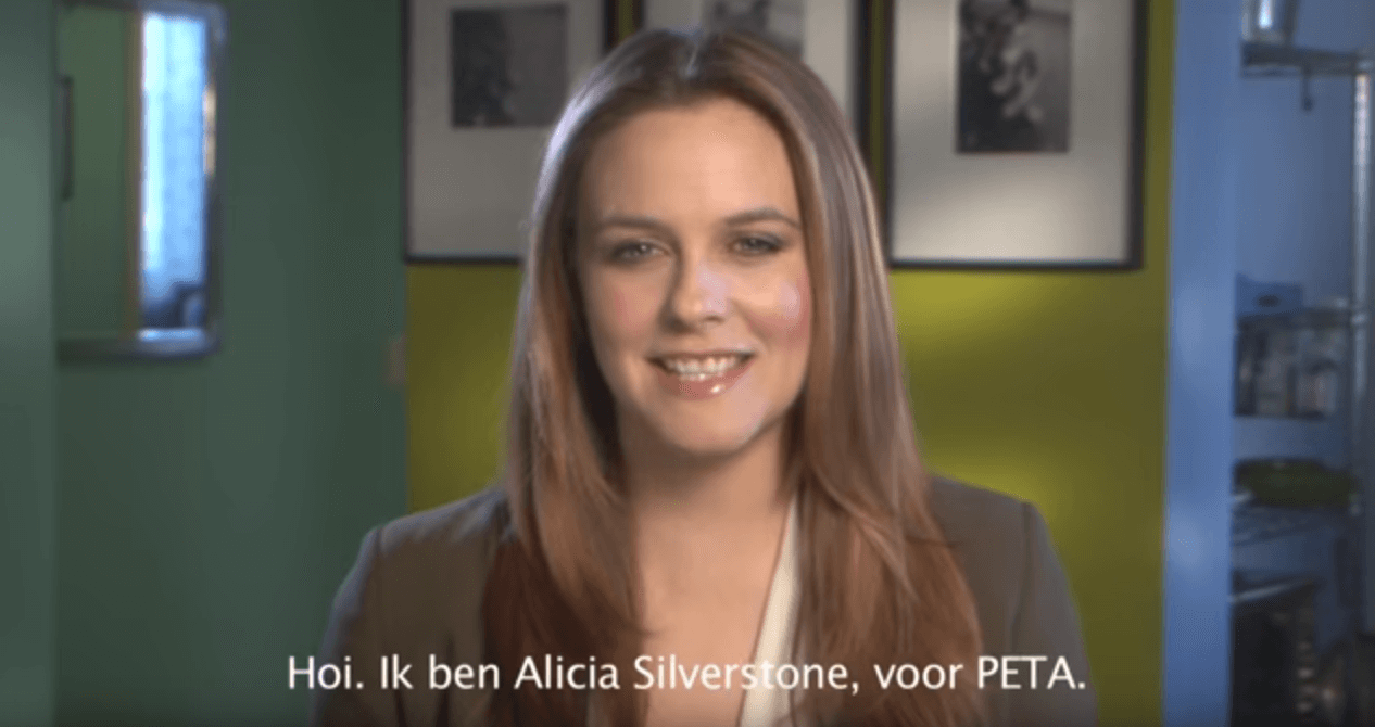 Alicia Silverstone legt wreedheid achter dons bloot