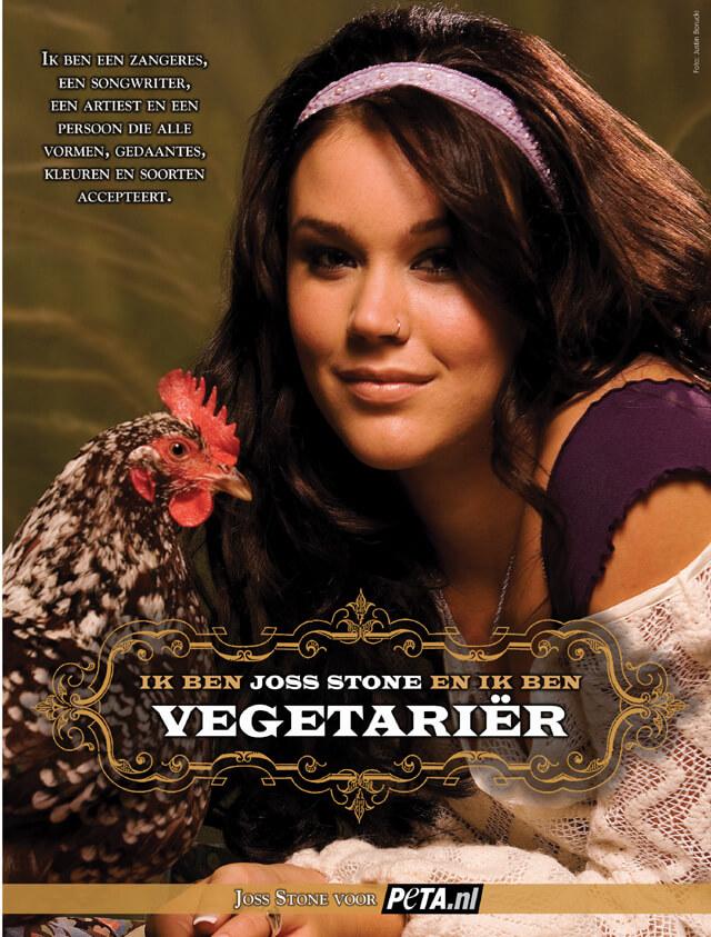 Introducing Joss Stone: Zangeres, songwriter, artiest, vegetariër