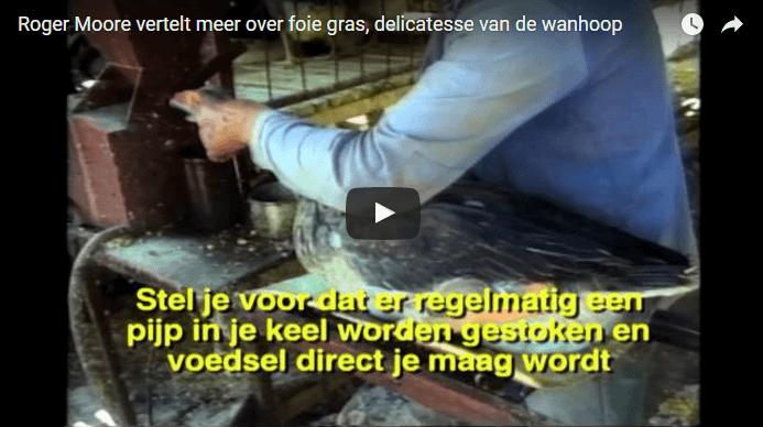James Bond richt zich op wreedheid van foie gras
