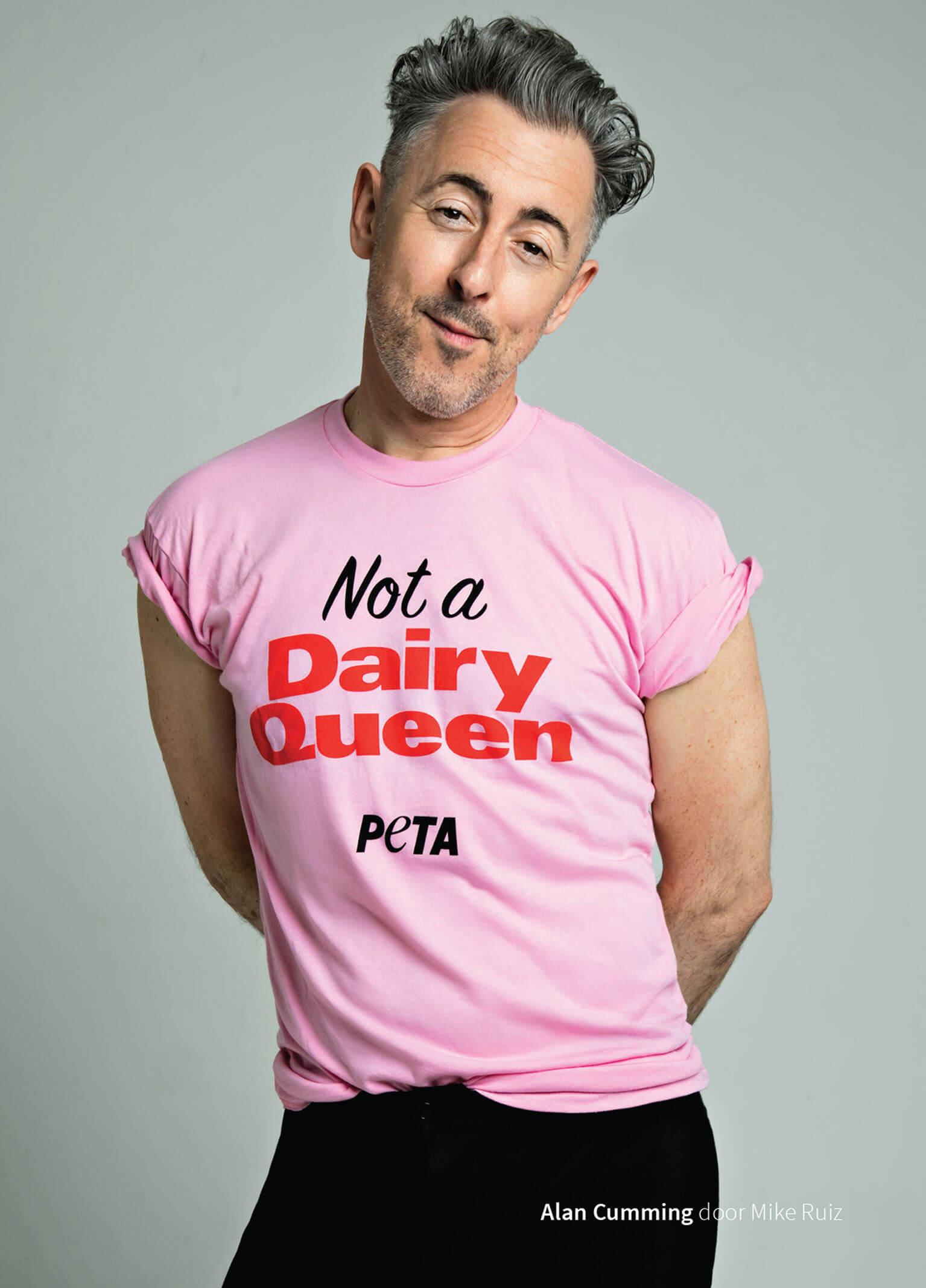 Geen 'Dairy Queen' – Alan Cumming maakt een statement deze Pride