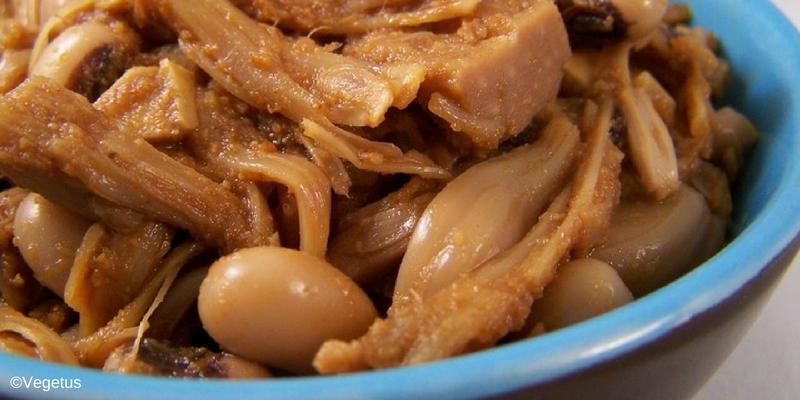 veganistisch recept jackfruit draadjesvlees