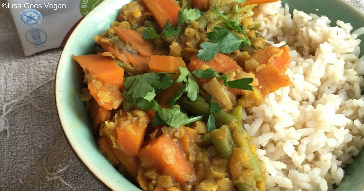 lisa goes vegan recept curry peta