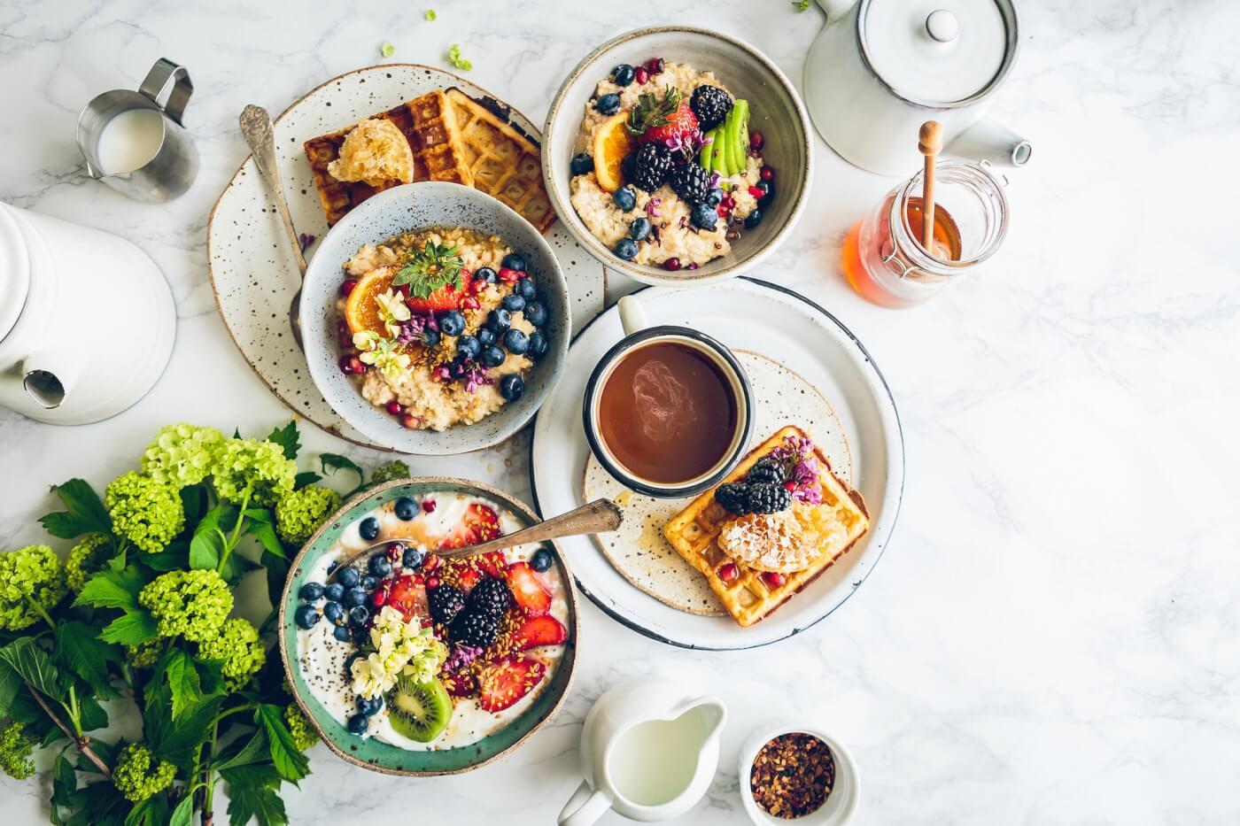 12 geweldige ideeën voor een heerlijk vegan ontbijt
