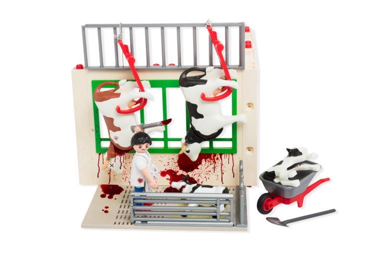 Zal Playmobil een 'Mijn Eerste Slachthuis'-speelset uitbrengen?