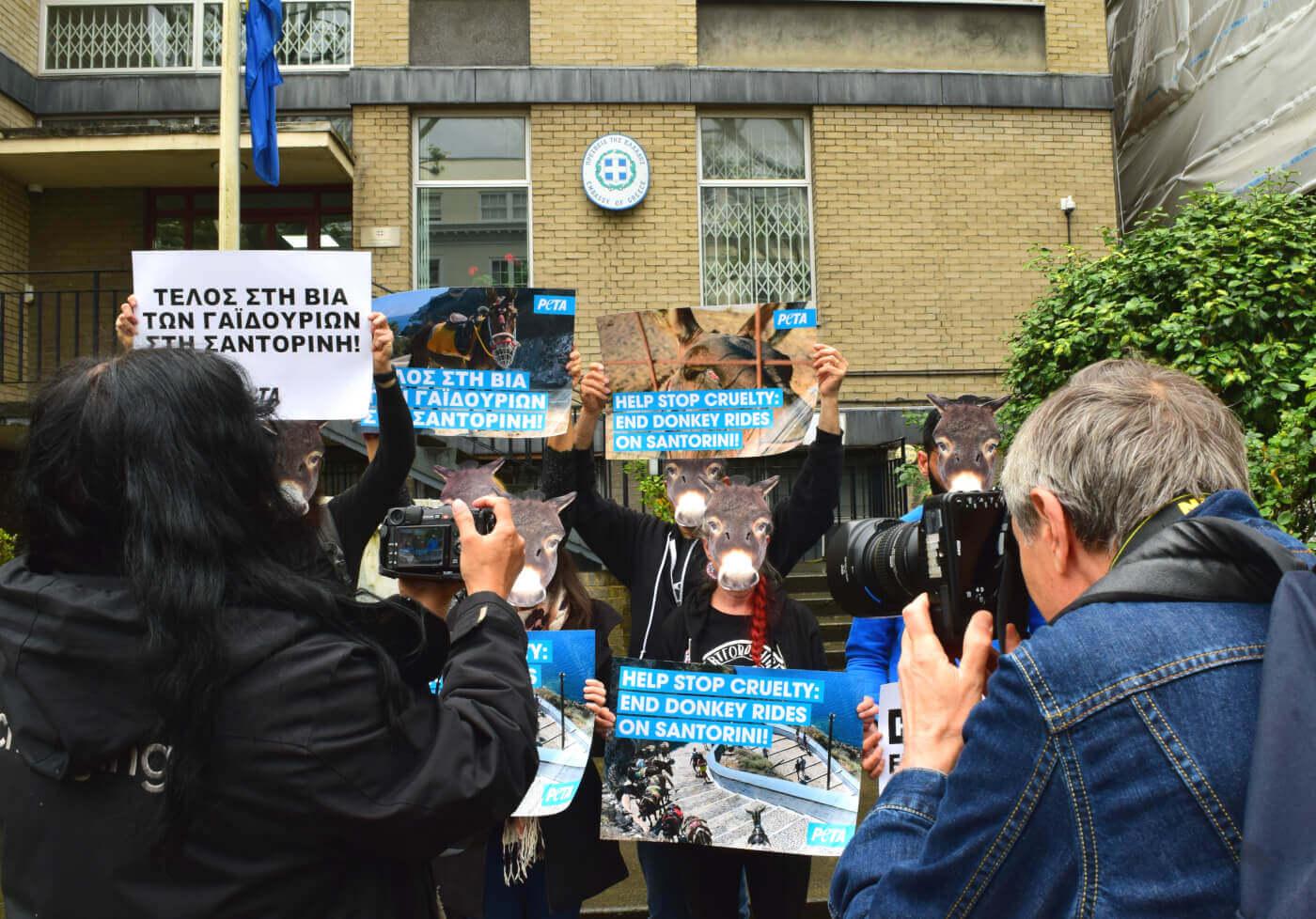 Demo in London